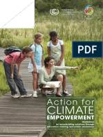 Action for Climate Empowerment