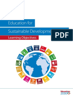 Education for Sustainable Development Goals