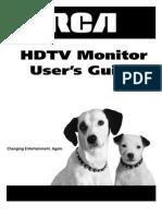 Big Screen Tv D52W17_manual
