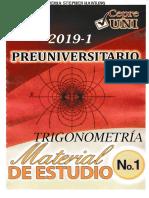 Cepre Uni 2019 i Trigonometria 01