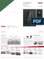 GVS NEW CATALOG Smart Builiding Control Systems v5.0