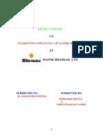 135559010 Marketing Stratagy of Dainik Bhaskar