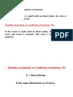 2. Elastic Modulie