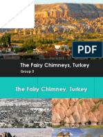 The Fairy Chimneys in Turkey