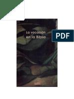 La vocación en la Biblia
