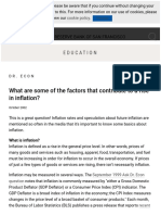 Education _ What Are Some of the Factors That Contribute to a Rise in Inflation