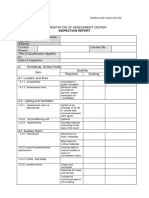 TESDA Assessment Center Guide Checklist