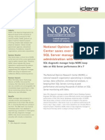 National Opinion Research Center saves over 200% on SQL Server management and administration with Idera