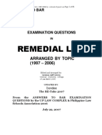 1997 2007 REMEDIAL Law