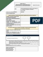 2. FORM. a 1 RG 94 C PP 1 CO 25 Presentacion de Propuesta