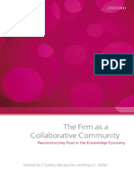 Adler Heckscher - THE FIRM AS A COLLABORATIVE COMMUNITY.pdf