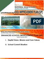 Malaya NHS School Improvement Plan 2016-2019.docx