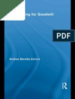 Andrea Beretta Zanoni - Accounting for Goodwill (Routledge Studies in Accounting) (2009)
