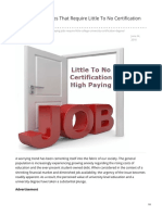 Efor-real.com-20 High Paying Jobs That Require Little to No Certification or Degree
