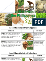 Local Materials in the Phils