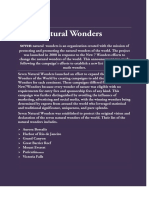 seven natural wonders PDF