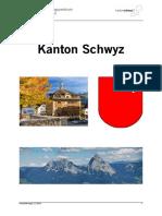 Informationen Zum Kanton Schwyz 2018-11-06