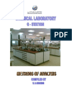 Method of analysis - water