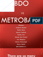 Comparison of Bdo and Metrobank Group 3