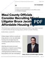 Maui County Officials Consider Recruiting Miami Litigator Bruce Jacobs in Affordable Housing Fight  Daily Business Review.pdf