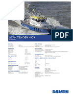Product Sheet Damen Stan Tender 1905-11-2017