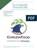 A report on Garuda polyflex