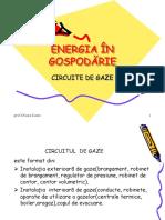 ENERGIA ÎN GOSPODĂRIE- Circuitul de Gaze Din Locuinta