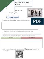 Worksheet Seance 3