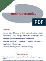 Thermodynamics Ppt