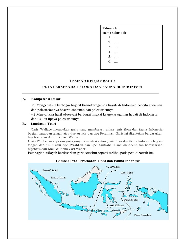 Peta Persebaran Flora Dan Fauna Di Indonesia Doylc Asia