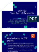 ERP Total cost of ownership - TCO