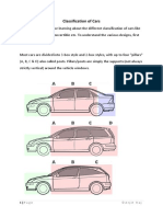 Classification of Cars