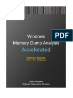 Accelerated Windows Memory Dump Analysis Versions 1 2 3 AddOn