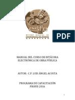 Manual Bitacora Electronica de Obra Publica