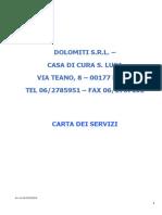 Carta Servizi - Rev. 2018
