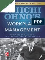 5. Taiichi Ohnos Workplace Management-Special 100th Birthday Edition 1e [McGraw-Hill] - Taiichi Ohno