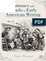 Erica Burleigh (auth.) - Intimacy and Family in Early American Writing-Palgrave Macmillan US (2014).pdf