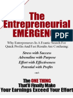 The Entrepreneurial Emergency