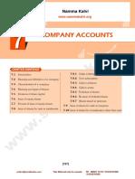 Namma Kalvi 12th Accountancy Unit 7 Sura English Medium Guide