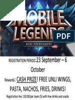 ML Tournament