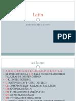 Latín Pronunciación