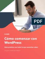 Como comenzar con Wordpress