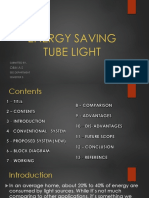 Energy Saving Tube Light