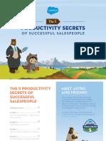 5 Secretos de Las Personas Más Productivas en Ventas