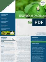 Department of life sciences