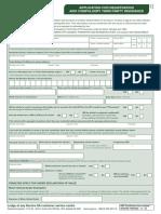 Reg Transfer FormsMR1
