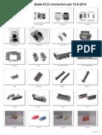ECU connectors 13-9-2014