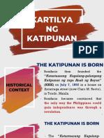 Kkk & the Kartilya Ng Katipunan