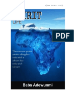 The Spirit Life - Babs Adewunmi