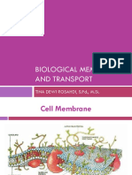 Biological Membran and Transport